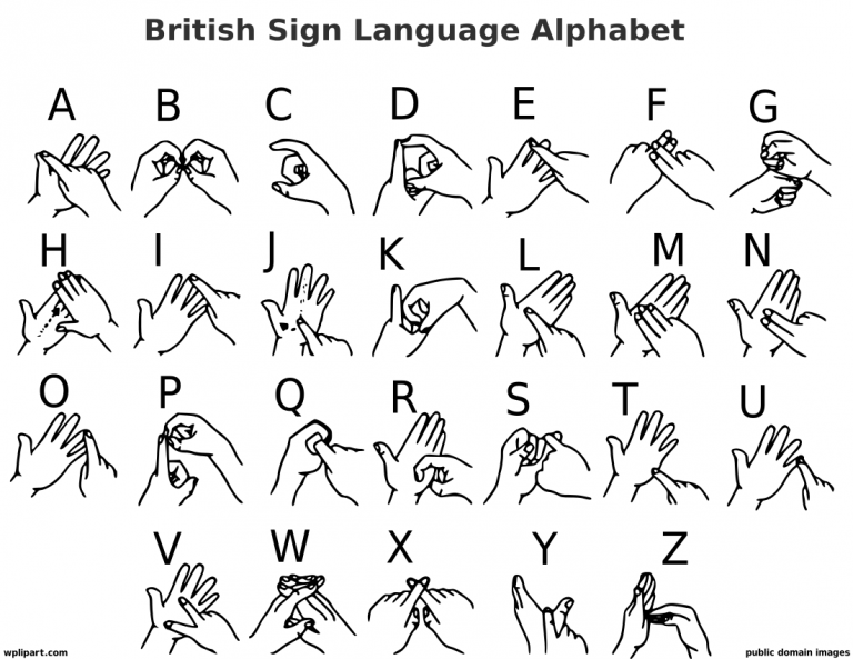 British English Sign Language